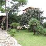 Ansicht klassische mallorquinische Sommervilla in Mal Pas