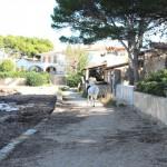 Alcudia Ortsteil Es Bacarès Weg mit Meerzugang und fantastischer Meerblick