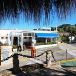 Restaurant Cocodrilo im Hafen Puerto Cocodrilo
