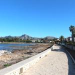 Alcudia Ortsteil Es Bacarès Fußweg, Meerzugang und fantastischer Meerblick