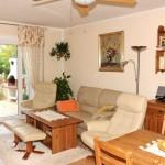 Wohnbereich im Haus an der Cala Pi