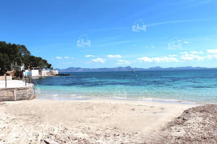 Strand von Alcanada