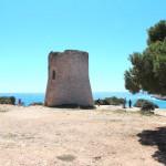 Historischer Wachturm Cala Pi