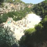 Strand der Cala Pi